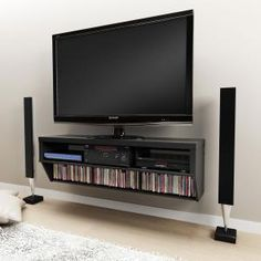 TV wall mount cabinet