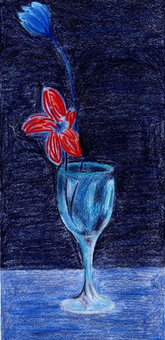 La copa blava by Pablo Picasso (Blue Period)