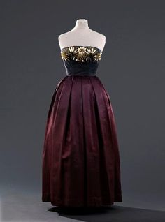 Dress - Jacques Fath, 1949 - Musée Galliera de la Mode de la Ville de Paris