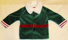 FREE U.S. Shipping! Seasonal Christmas Costume! Top And Bottom. Infant 0-3 Mos. #Costume