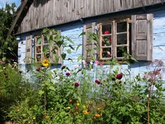 Garden in Polish countryside (from House of Art blog) http://www.lifepopularclothing.com/jack-juniors-camilla-skirt.html