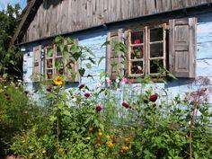Garden in Polish countryside (from House of Art blog) http://www.lifepopularclothing.com/jack-juniors-camilla-skirt.html