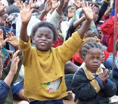 If these children can praise Him through their circumstances I think we should be able to get beyond ourselves and worship God.