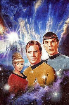 Star Trek. Desde 1966 criando a matéria da qual os sonhos são feitos...!!!