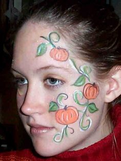 fall festival booth ideas for face painting Pumpkin Face Paint, Pumpkin Faces, Pumpkin Painting, Pumpkin Vine, Facial Painting, Body Painting, Fall Festival Booth, Pumpkin Varieties, Fair Face