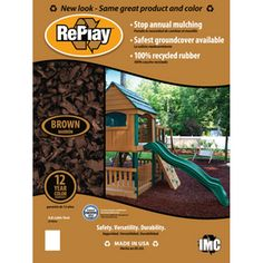 Vigoro 0 8 Cu Ft Rubber Mulch In Mocha Brown Hdvmbmn8cb At The Home Depot Love The