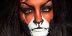 Cruella & Co .: The most beautiful Disney make-up for Halloween- Cruella & Co.: Das schönste Disney-Make-up zu Halloween Who needs a Snow White costume, if he can be the evil stepmother? Bad Girls are more fun after all … - Halloween Inspo, Halloween Spider, Disney Halloween, Halloween Fashion, Halloween Halloween, Beautiful Halloween Makeup, Halloween Makeup Looks, Scar Makeup, Makeup Brush Set