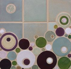 Organic Edge Bubbles - modern - products - minneapolis - Mercury Mosaics and Tile