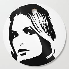 """A beautiful black and white art of a beautiful woman face from the """"Fashion / Beauty Collection """".   """"FTC disclosure: This post contains affiliate links, which means I may receive a commission for purchases made through my links""""."""
