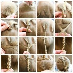 Triple Flip Push Up Braid