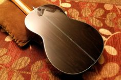 J. Logue (Luthier - Toronto) C-851 Classic (1985): Back (African Ebony) - 2 (of 5) - Fujifilm FinePix S1500 | Flickr - Photo Sharing!