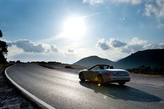 60 years of the Mercedes-Benz SL - Driving event @ Marbella, Spain. Mercedes-Benz SL-Class. Fuel consumption combined: 11,6-6,8 l/100km, CO2 emissions combined: 270-159 g/km. #MBCars