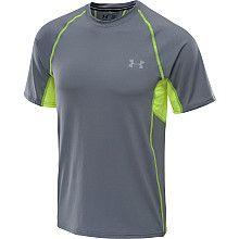 UNDER ARMOUR Mens Coldblack Run T-Shirt - $19.97