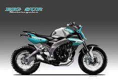 Building A Garage, Motorcycle Design, Big Sur, Scrambler, Concept, Urban, Proposal, Motorbikes, Cars