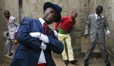 sapuer Fashion to Die For: Sapeurs of the Congo.....fashion, escapism, unique subculture, politics.