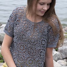 Free Pattern: Crochet Square Blouse