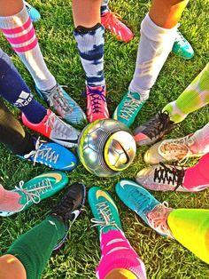 I love my soccer team! ❤⚽