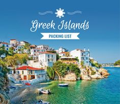 Since life is simple when you're visiting the islands, so is this Greek Islands packing list. Most of the day you will be wearing your swimsuit.