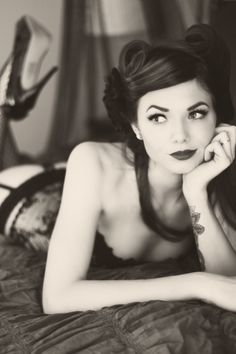 Vintage boudoir.