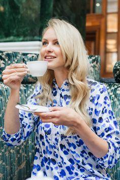 Tea time Photoshoot Beautiful bamboo pyjamas How to relax