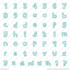 When I was a Kid Font