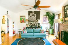Our First 360 House Tour: Modern Boho Style in Venice