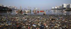 바다의 플라스틱 쓰레기,  무려 27만톤