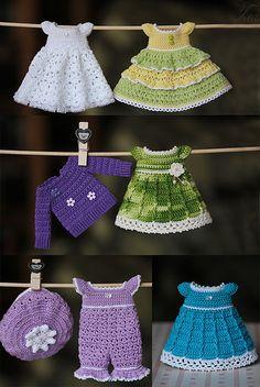 Lindos trajes de niños.