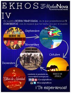 Si quieres conocer todos los detalles de nuestra temporada visita: www.alpha-nova.ipn.mx asi como nuestras redes sociales.