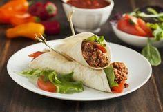 Qué rico burrito de carne picada ¡Toma nota de la receta!   #Burrito #BurritoDeCarne #BurritoDeCarneMolida #BurritoMexicano #RecetasMexicanas #RecetasFaciles