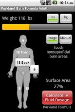 Screenshot from the Nursing Essentials Android application #Nurse