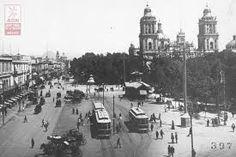 Así eran los tranvías de la Ciudad de México en el siglo XIX.