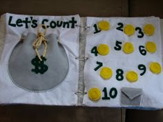 Little Inspirations: My Finished Quiet Book