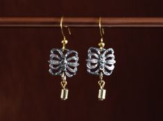 These stunning earrings have been made using vintage Marcasite butterfly shaped Insets with a vintage gold . Vintage Necklaces, Handmade Necklaces, Vintage Jewelry, Gold Plated Earrings, Drop Earrings, Butterfly Shape, Marcasite, Gold Beads, Unique Vintage