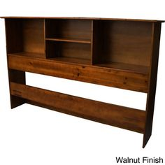 Scandinavia Solid Wood Bookcase Headboard
