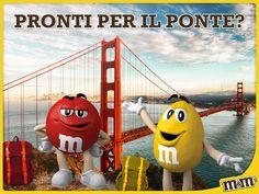 M&M's Italia - Red e Yellow l'hanno presa alla lettera. Tu invece dove vai