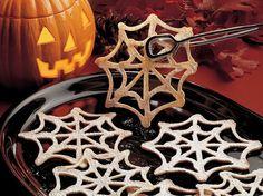 Cobweb Cookies