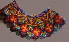 Beaded Collar, Hand Painted Furniture, Boho Diy, Diy Tutorial, Boho Shorts, Beaded Necklaces, Jenni, Beads, Crochet