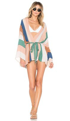 f7cd31f094 Shop for Indah Kumala Kimono in Beach Stripe at REVOLVE. Free 2-3 day