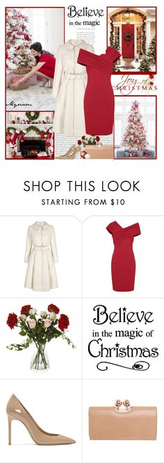 """""""BELIEVE IN THE MAGIC"""" by lovemeforthelife-myriam-mimi ❤ liked on Polyvore featuring Oris, Sia, WALL, Yves Saint Laurent and Ted Baker"""