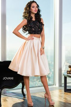 Two-Piece Cocktail Dress 26020