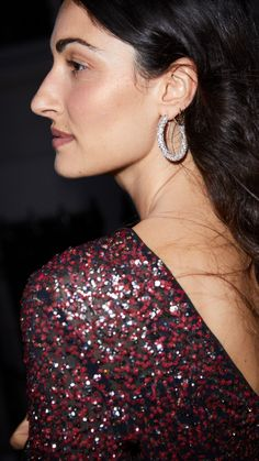 Get ready for the end-of-year celebrations with the new arrivals in H&M's holiday collection. Find everything you need to look your best at the New Year's party, and beyond! New Year's Eve 2019, Diamond Earrings, Drop Earrings, Knitwear, That Look, Women Wear, Street Style, Photo And Video, Holiday Fashion