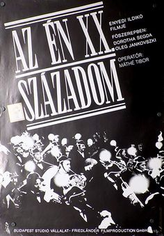 My Twentieth Century Budapest, The Twenties, Studio, Movies, Math Resources, Studios