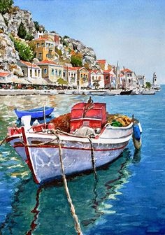 Pantelis Zografos   WATERCOLOR