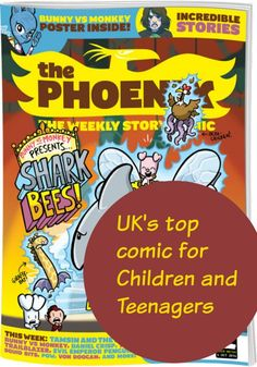 The Phoenix Is First UK Comic In 40 Years To Reach 100 Issues
