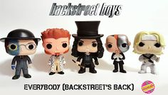 Backstreet's back, all right! Working on a set of Backstreet Boys pops from the 'Everybody' music video. #90s #90smusic #90smusicvideos #backstreetboys #backstreetsback #funko #funkopop #popvinyl #bottlecapcustoms #toys