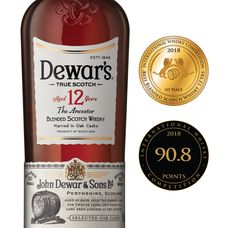 35a6affa90c6 Dewar s 12 Year Old The Ancestor won the 1st Place in Best Blended Scotch  Whisky 12