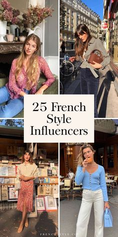 25 Effortlessly Chic French Style Influencers to F Style Français, Style Work, Cool Girl Style, Woman Style, Style Icons, French Women Style, French Girls, Style Outfits, Fashion Outfits