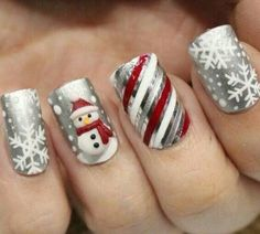 Nails Ideas For Christmas - motivational trends