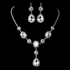 Necklace & Earrings Jewelry Set 47338